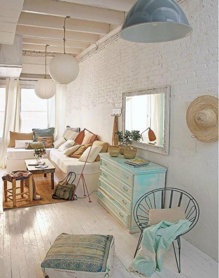 Decoraci n f cil un garaje convertido en una casa maravillosa - Decorar una entrada estrecha ...