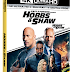Hobbs & Shaw Pre-Orders Available Now! Releasing on 4K UHD, Blu-Ray, DVD, and Steelbook 11/05