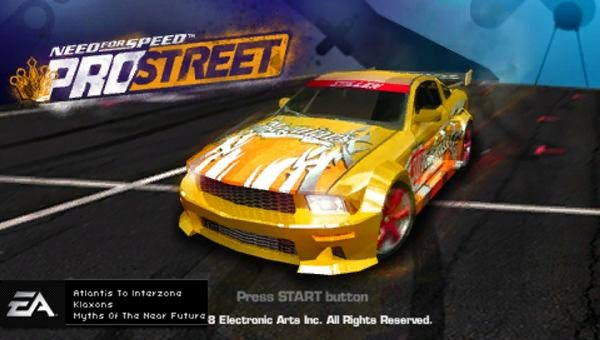 Need for Speed Pro Street ppsspp psp