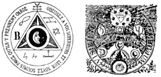 Codex Magica 18 Triángulos Magia Negra Y Brujería Masónica