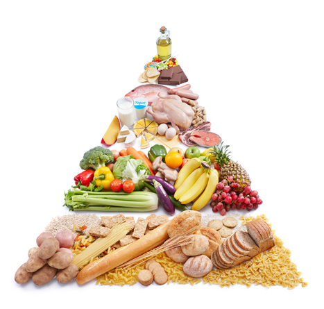 Senior nutrition pyramid