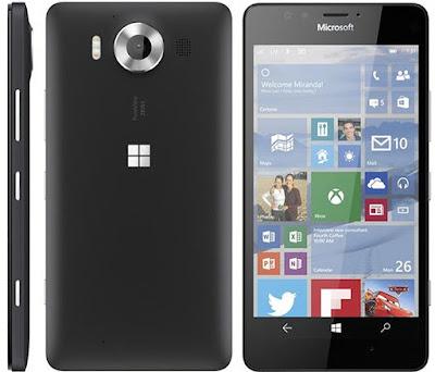 Spesifikasi Microsoft  Lumia 950 Terbaru