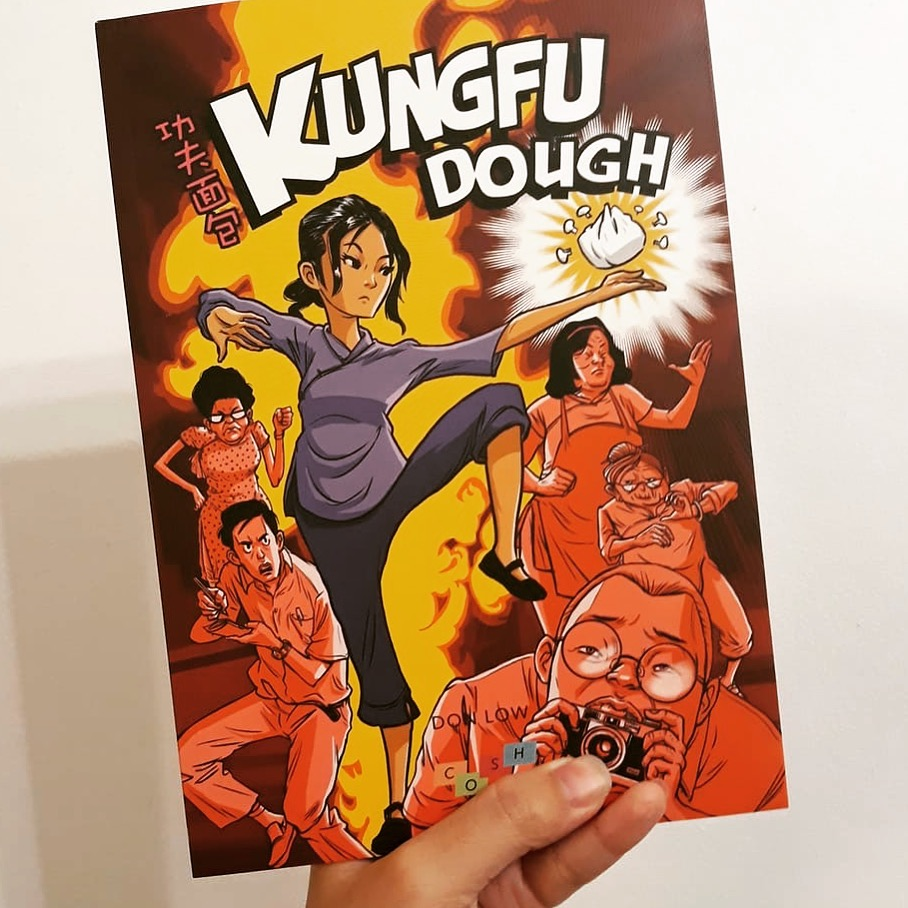 Kungfu Dough - my graphic novel project