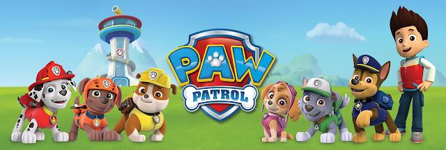 Imagen promocional de la serie de animación canadiense La Patrulla Canina