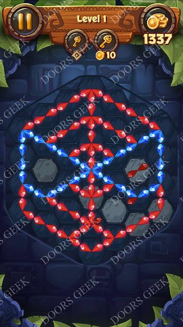 Gems & Magic [Titanium] Level 1 Solution, Walkthrough, Cheats