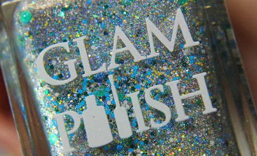 Give me glitter: Glam Polish - Luigi, Number One!