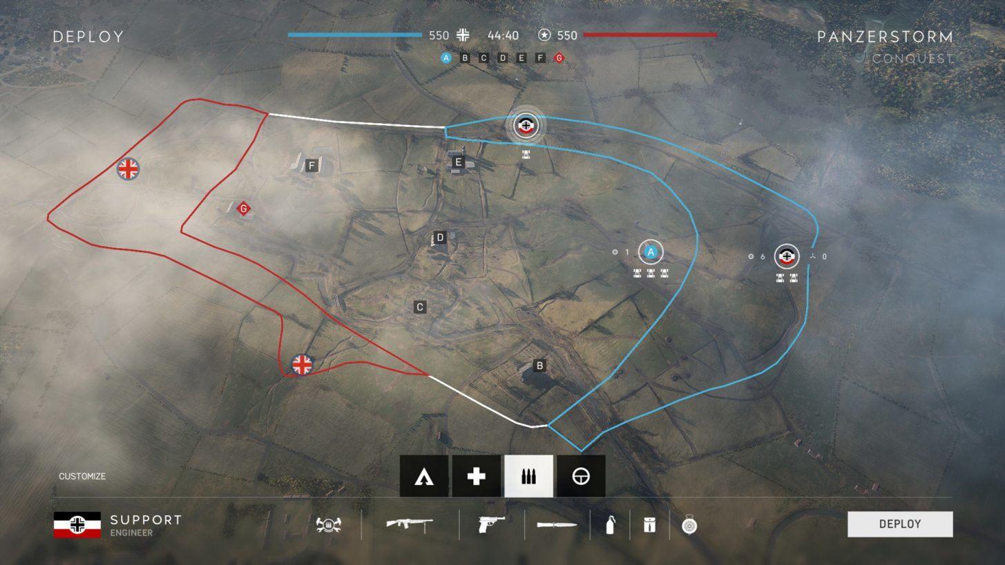 Atualização do mapa Panzerstorm de Battlefield V