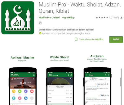 Aplikasi Islam untuk menyambut bulan ramadhan