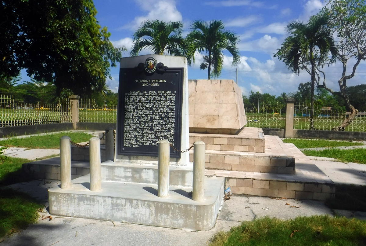 the tomb of General Salipada K. Pendatun
