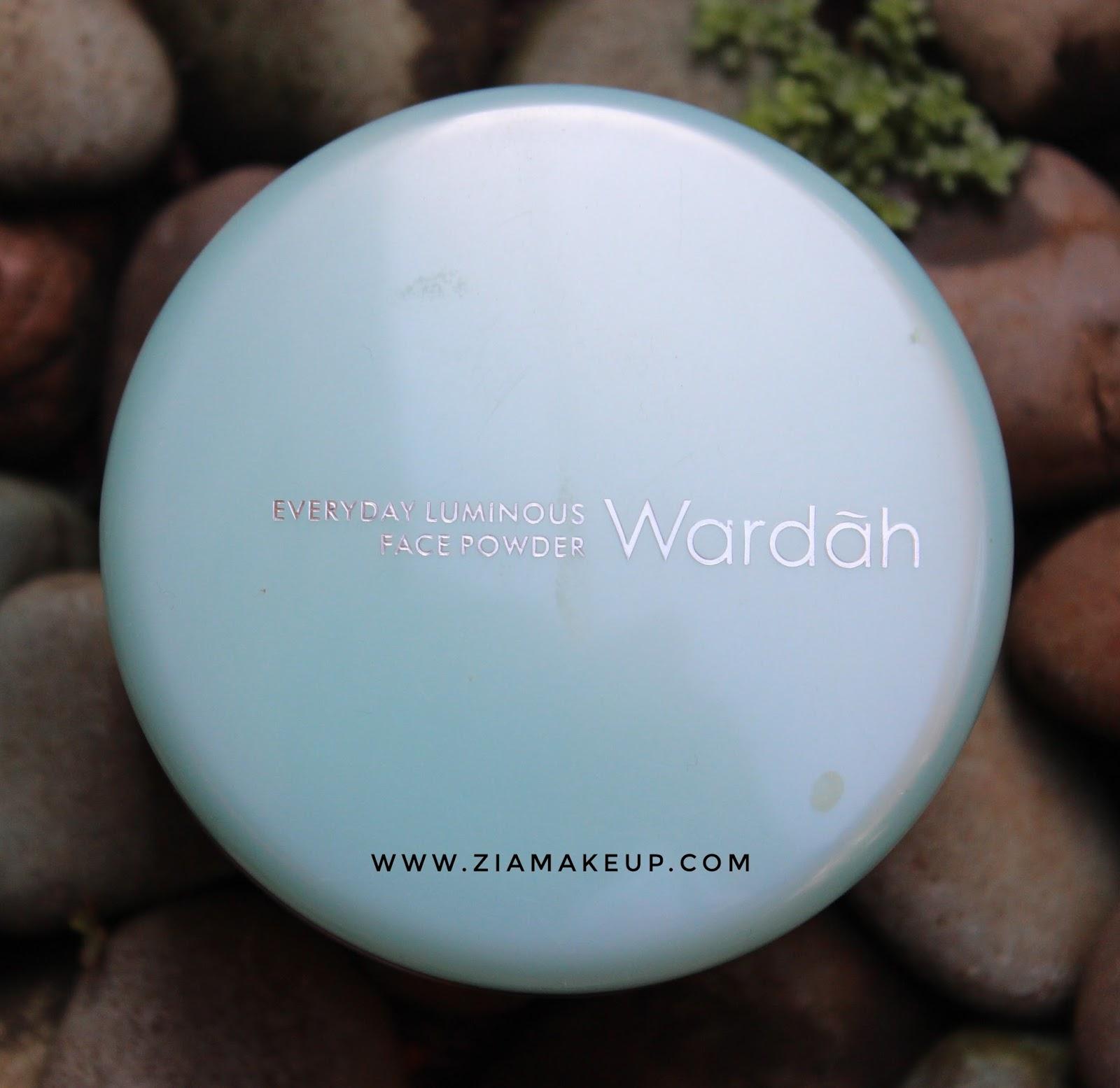 Review Wardah Luminous Face Powder