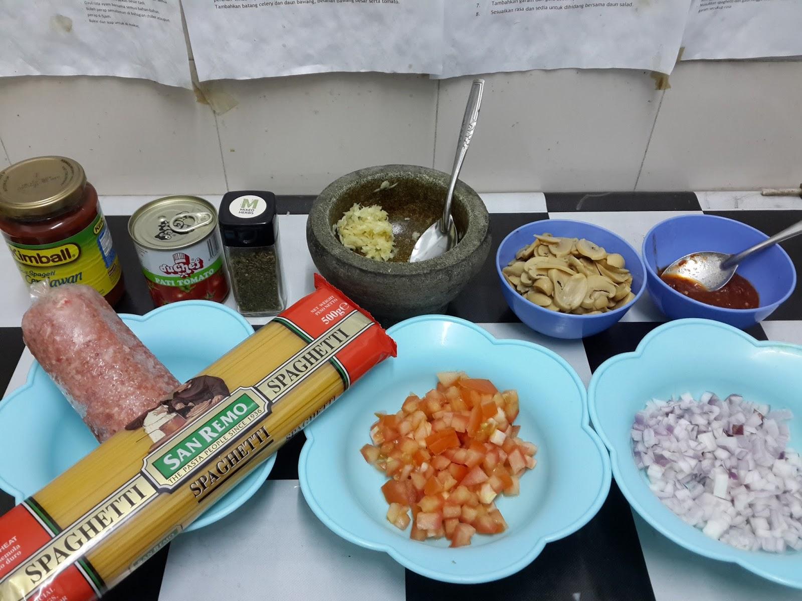 Ni Ha Lean Resepi Spaghetti Bolognese Pedas Tak Berapa Pedas