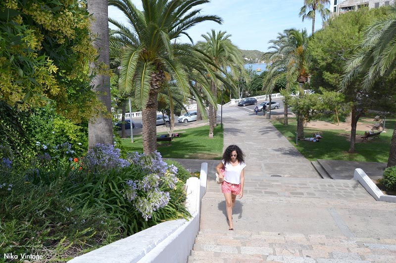 Menorca, parque Rochina