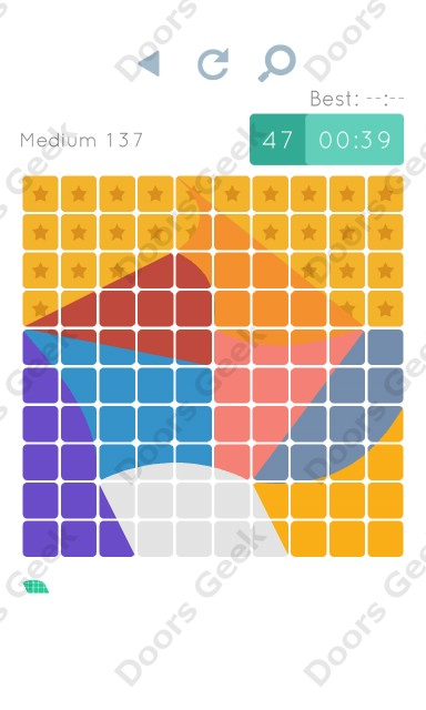 Cheats, Walkthrough for Blocks and Shapes Medium Level 137