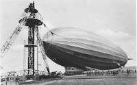 Airship ready to launch