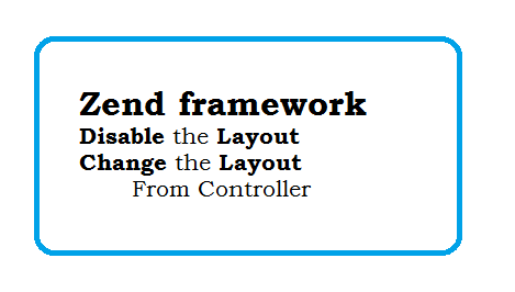 Zend framework Disable the layout and Change the Layout in ZF1
