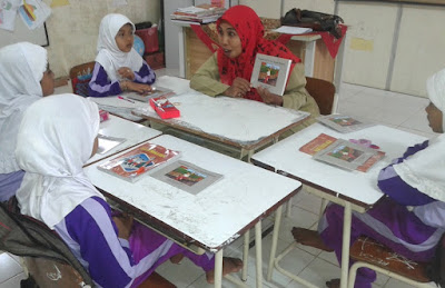 Usaid Ajay, Latih Guru Agar Siswa SD/MI Gemar Membaca
