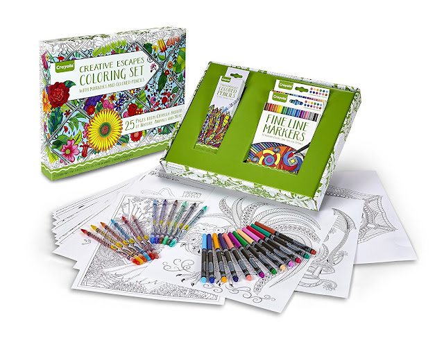 Amazon Prime: Crayola Coloring Set only $11 (reg $30) + a Crayola Coloring Book only $2 (reg $11)!