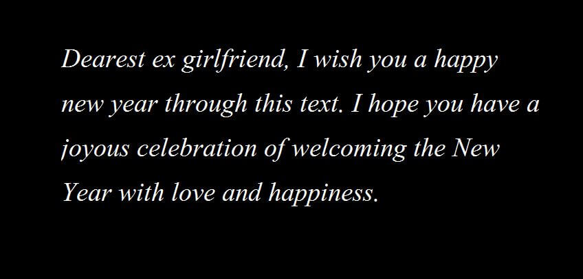 happy new year messages for girlfriend