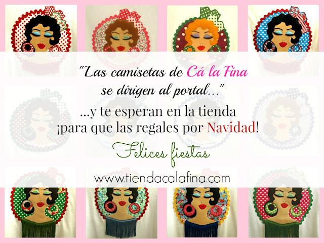 felicitacion-navidad-camisetas-flamencas-calafina