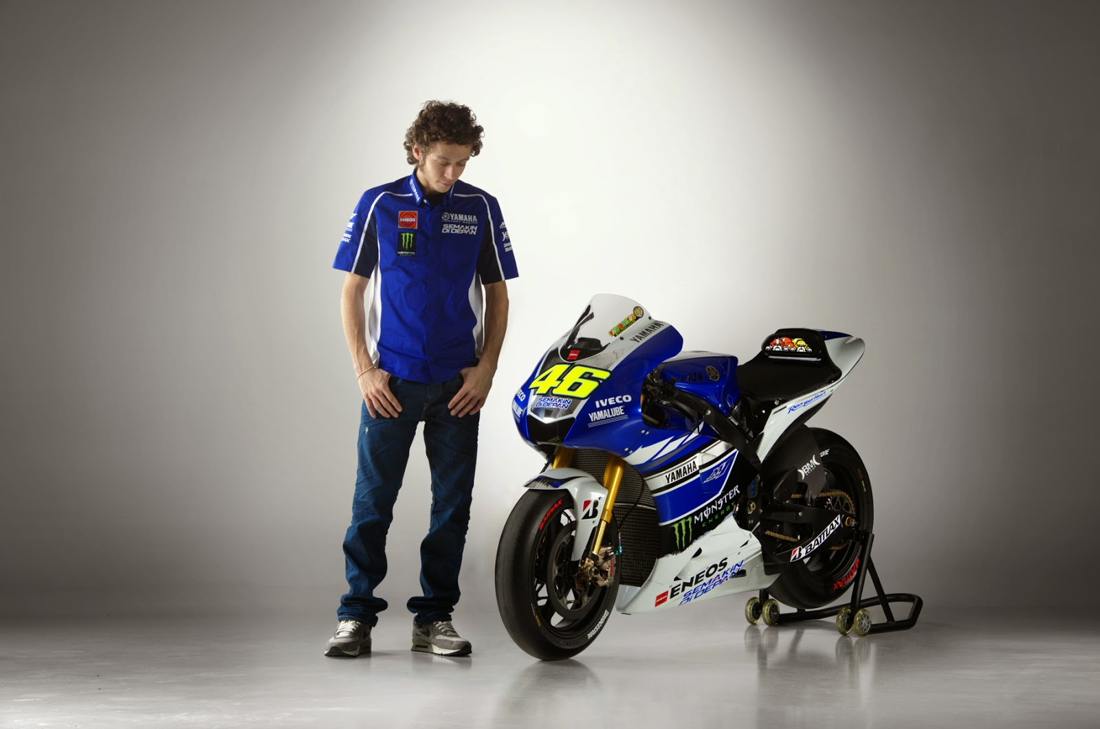 Valentino Rossi HD Wallpaper 2014