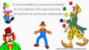 Idee Message Anniversaire Humour