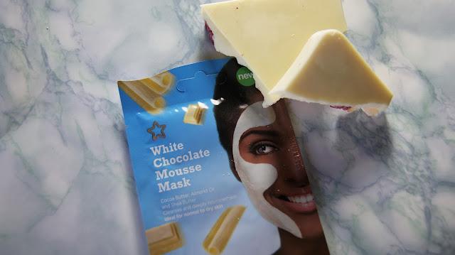 Superdrug White Chocolate Mousse Mask