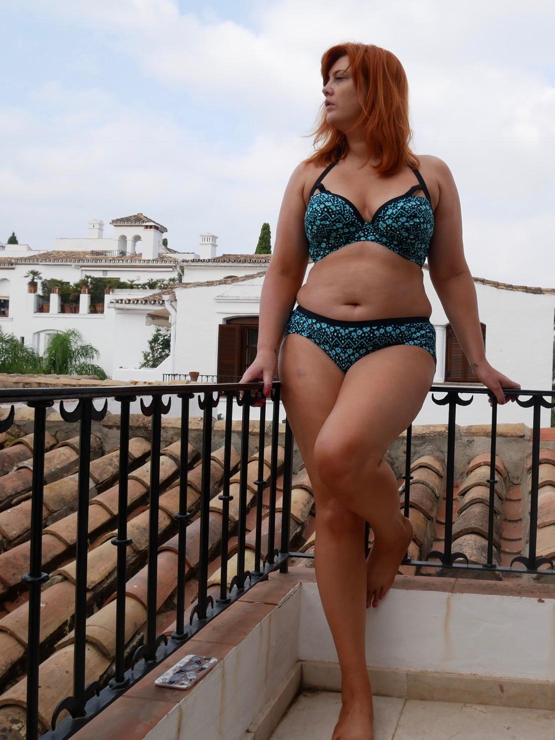05c673ac25 Reflex Plunge Bikini Top - Curvy Kate Reflex Short - Curvy Kate
