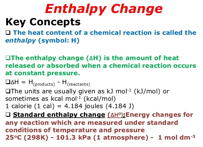 Stpm Chemistry Corner Topic 7 Chemical Energetics
