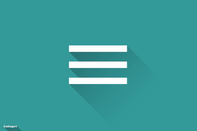 Cara Buat Tombol Menu Dengan CSS