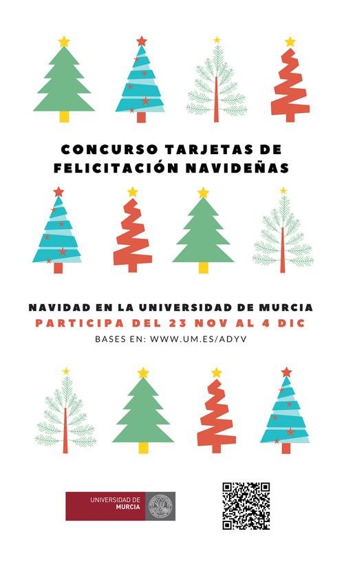 Concurso de tarjetas de felicitación navideñas.