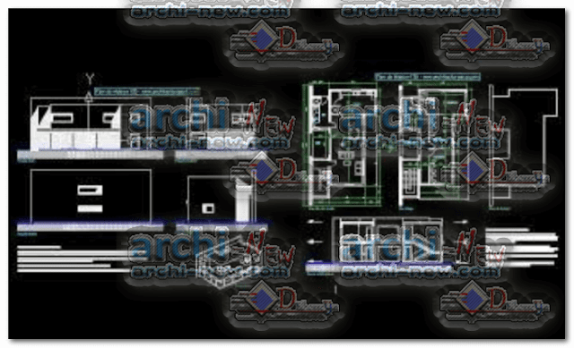 autocad-library-project-dwg