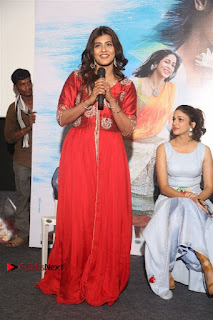 Actress Heba Patel Latest Stills in Red Dress at Mister Movie Trailer Launch Event  0030.jpg