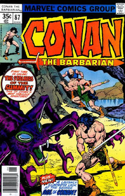 Conan the Barbarian #87, Stalkers of the Summit