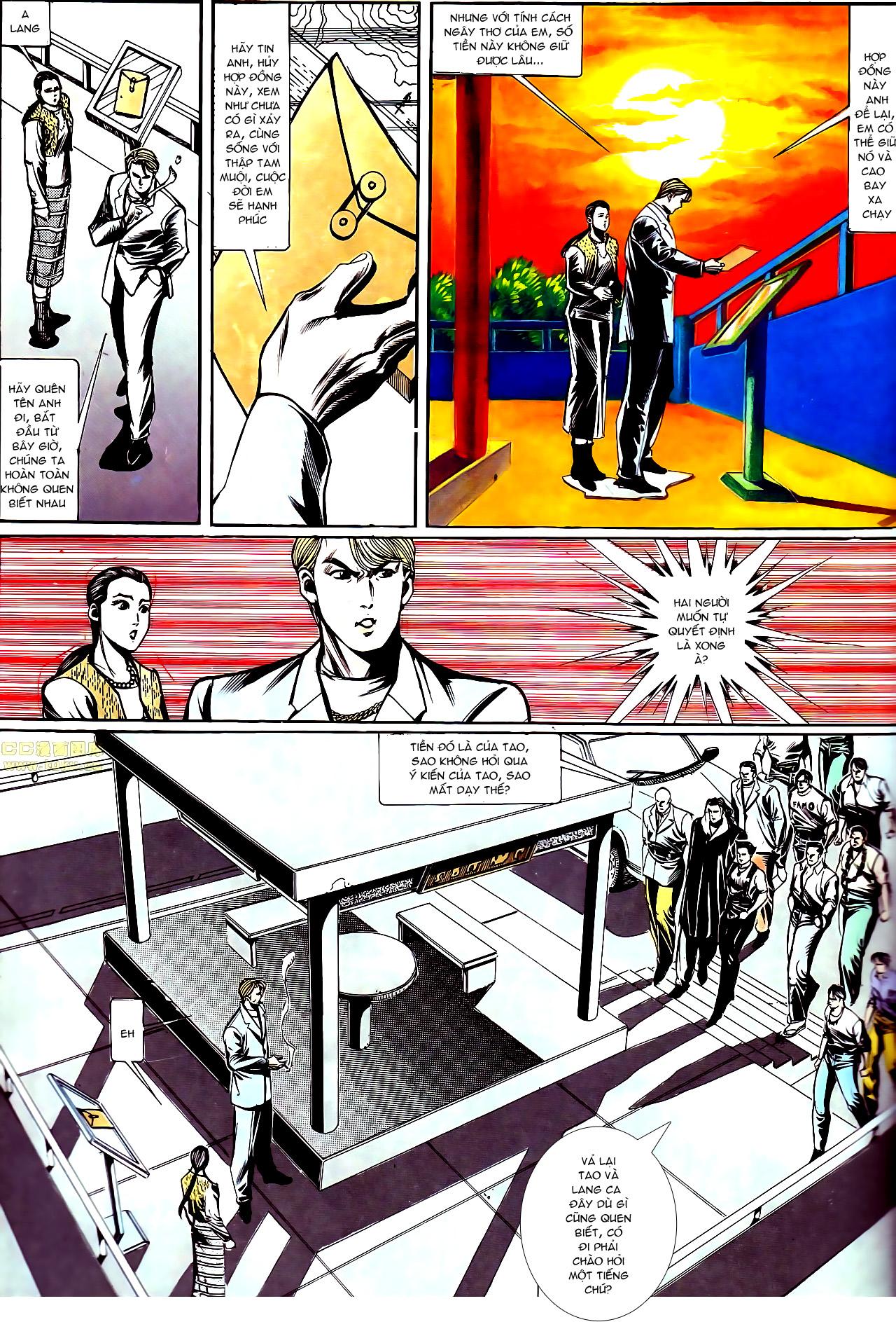 Người Trong Giang Hồ chapter 147: vĩnh biệt kk trang 8