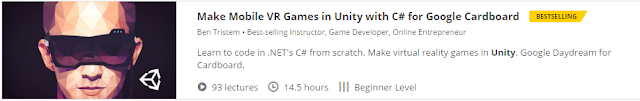 Make Mobile VR Games in Unity with C# for Google Cardboard