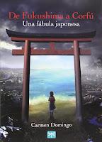 """Portada del libro """"De Fukushima a Corfú"""", de Carmen Domingo"""