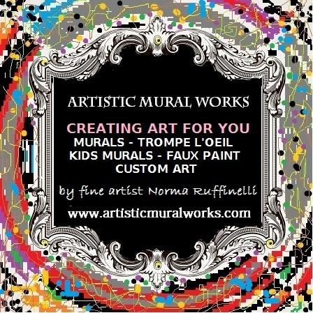 artistic mural works nationwide custom mural trompe l 39 oeil artist. Black Bedroom Furniture Sets. Home Design Ideas