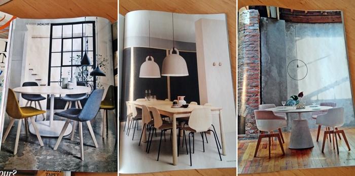 przykłady stołów i krzeseł do jadalni