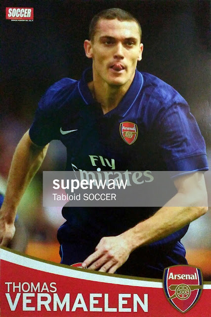 Thomas Vermaelen Arsenal 2009