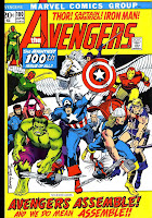Avengers v1 #100 marvel comic book cover art by Barry Windsor Smith