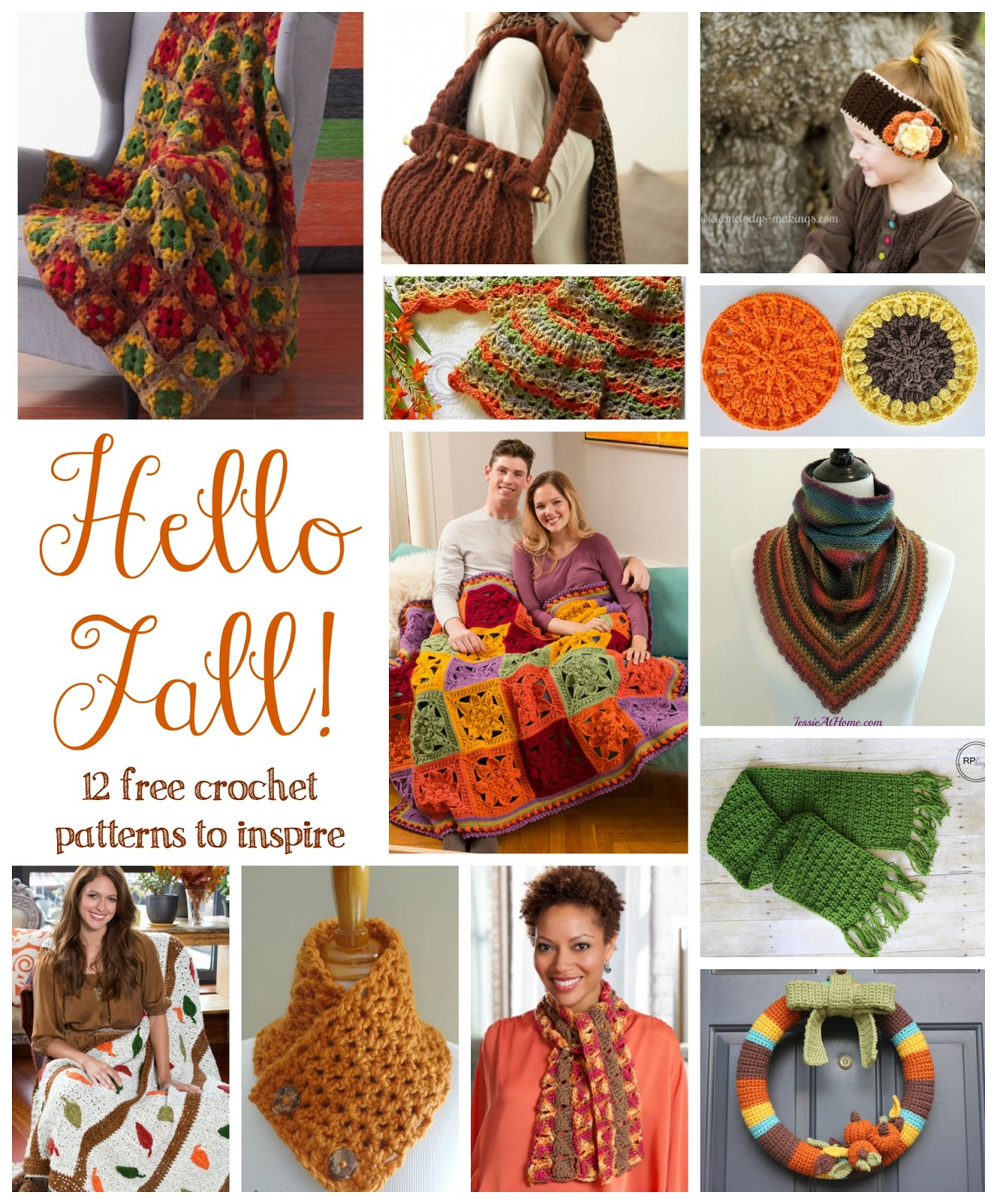 Fiber Flux Hello Fall 12 Free Crochet Patterns To Inspire