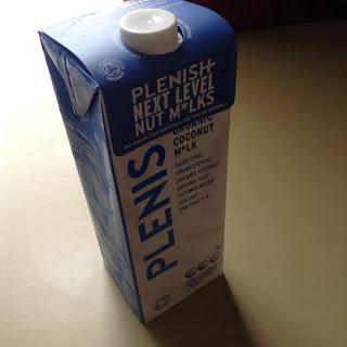 Plenish Organic Dairy Free Cococnut Milk