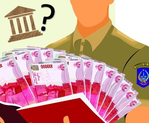 Nama Nama Kabupaten Dengan Rasio Belanja Pegawai Diatas 60%