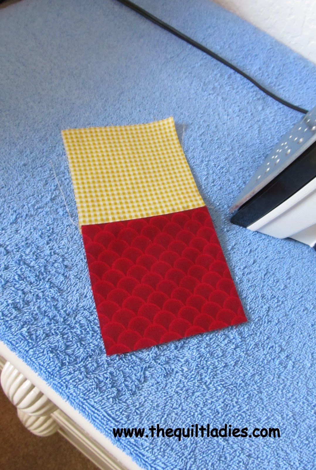 The Quilt Ladies Simple Quick Table Runner Quilt Pattern
