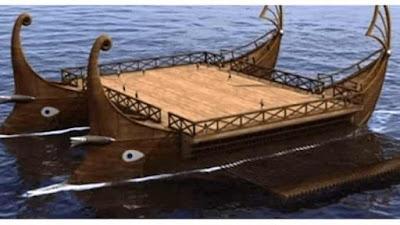 Τεσσαρακοντήρης: Το «Αεροπλανοφόρο» της Αρχαιότητας