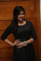 Anjali in Black Short Dress at Chitrangada Movie Success Meet 216.JPG