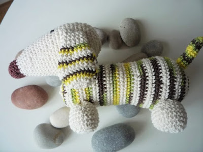 crochet dog animal