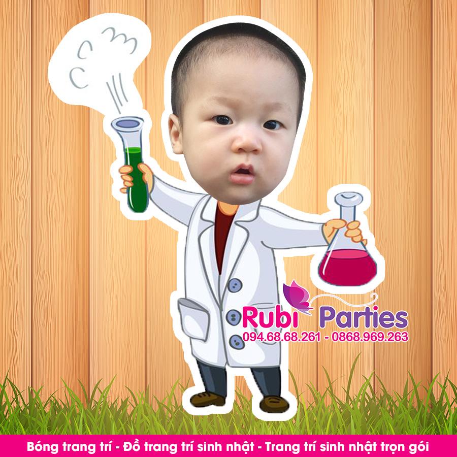 thiet ke chibi sinh nhat cho be tai phuong lien