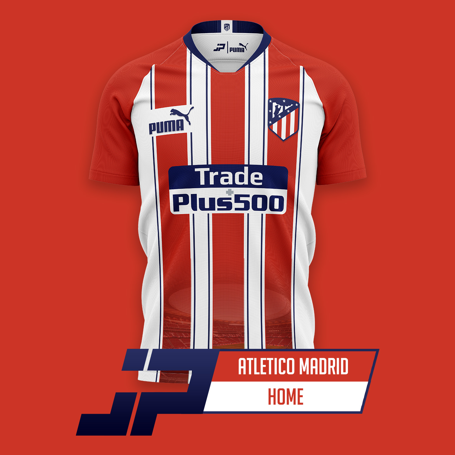 Puma Atletico Madrid 20 21 Home Away Third Kit Concepts By Jpereira Footy Headlines