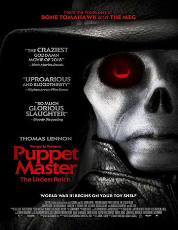 Poster Of Hollywood Film Watch Online Puppet Master: The Littlest Reich 2018 Full Movie Download Free Watch Online 300MB